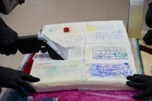 Матеріалознавство і виведення плям з килимів і м'яких меблів: семінар